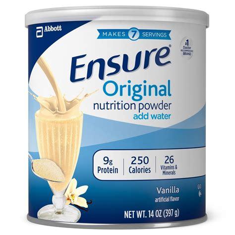 Amazon.com: Ensure Nutrition Powder, Vanilla, 14-Ounce, 2