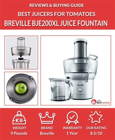 juicer recipes blender tomatoes tomato juice