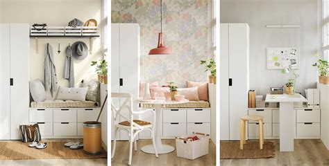 el mismo mueble tres usos distintos
