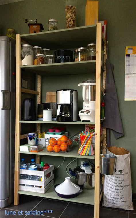 deco etagere cuisine étagère cuisine ikéa ivar pantry kitchen inspiration