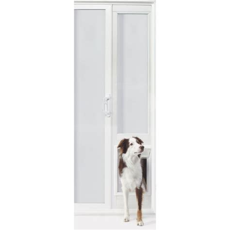 ideal pet vip vinyl insulated 78 inch pet patio door