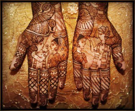 15 Stunning Dulha-Dulhan Mehndi Designs If You Love