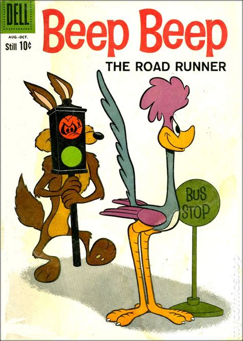beep beep the road runner 1960 dell comic books