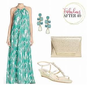 green chiffon maxi dress fabulous after 40 With shoes to wear with maxi dress for wedding