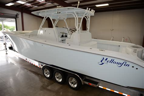 Yellowfin Boats Models by New 39 Yellowfin 2014 Model F350 S The Hull