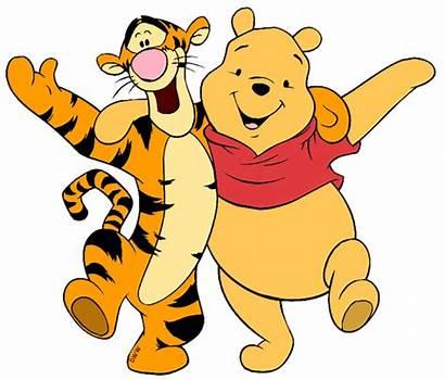 Friends Pooh Clipart Clip Tigger Winnie Disney