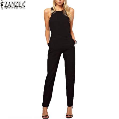 womens jumpsuits aliexpress com buy zanzea brand 2016 summer