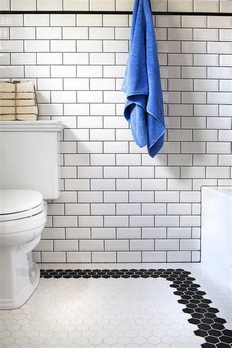 bathrooms with subway tile ideas best 25 border tiles ideas on transitional