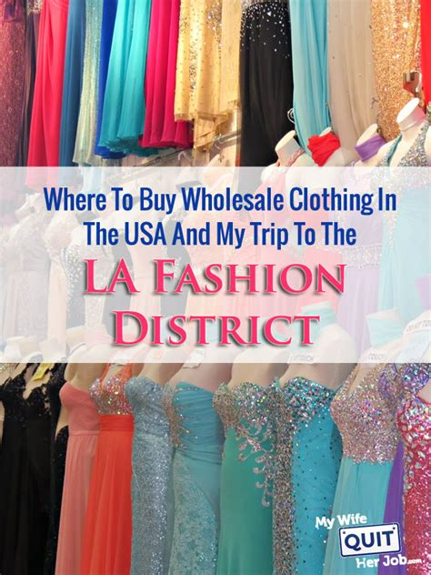 Where To Buy Wholesale Clothing In The Usa And My Trip To