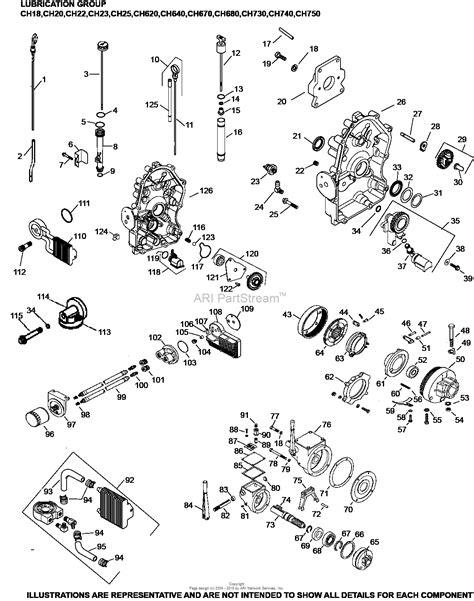 Ch 20 Kohler Command Wiring Diagram kohler ch20 64632 moridge mfg 20 hp 14 9 kw parts