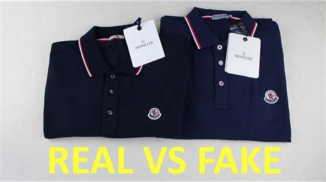 spot  fake moncler polo shirt authentic  replica moncler youtube