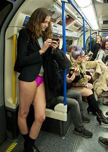 In Pictures  No Pants On The Tube Day 2013