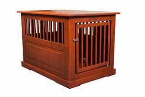 amish made large oak end table dog crate pet beds the o With amish dog crate