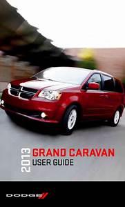 2013 Dodge Grand Caravan Owner U0026 39 S Manual - Zofti