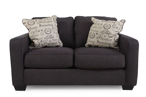 Furniture Loveseats by Alenya Charcoal Loveseat Mathis Brothers Furniture