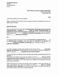 Lettre De Contestation Pv : exemple gratuit de lettre contestation annulation une commande distance prestation service non ~ Gottalentnigeria.com Avis de Voitures