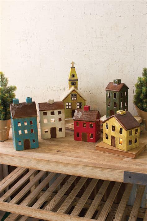 set   ceramic village