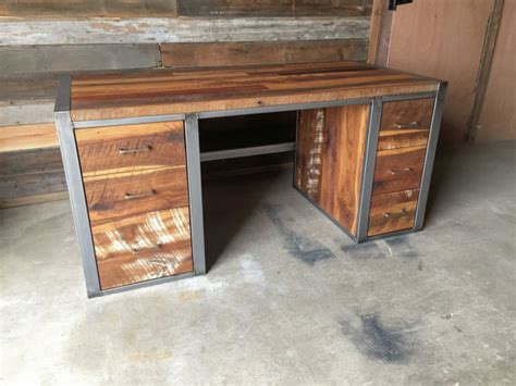 stock kitchen cabinets for reclaimed wood office furniture barn wood office 8356