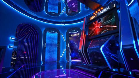 dedicated beat saber machine  hit vr arcades  south
