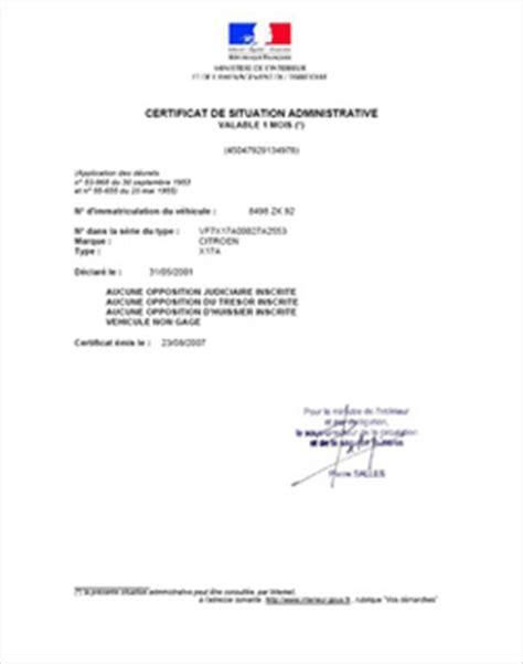 vendre utilitaire imprimer le certificat de