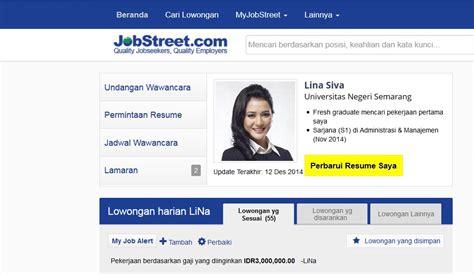 cara mudah memperbarui resume jobstreet