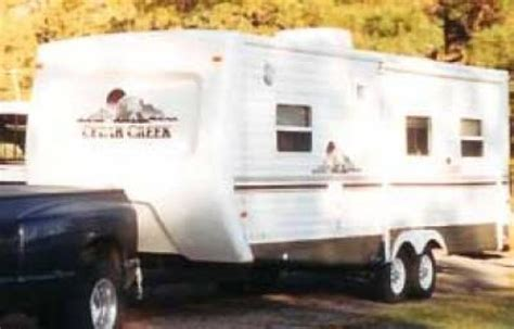 recreational vehicles travel trailers  forest river
