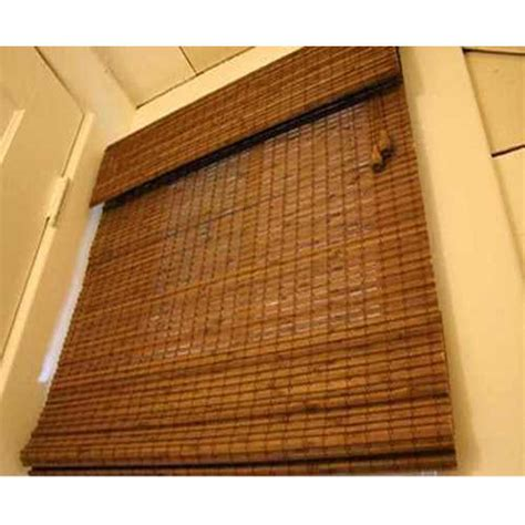 Bamboo Roller Blinds by Brown Bamboo Roller Blind Rs 60 Techno Wood Id