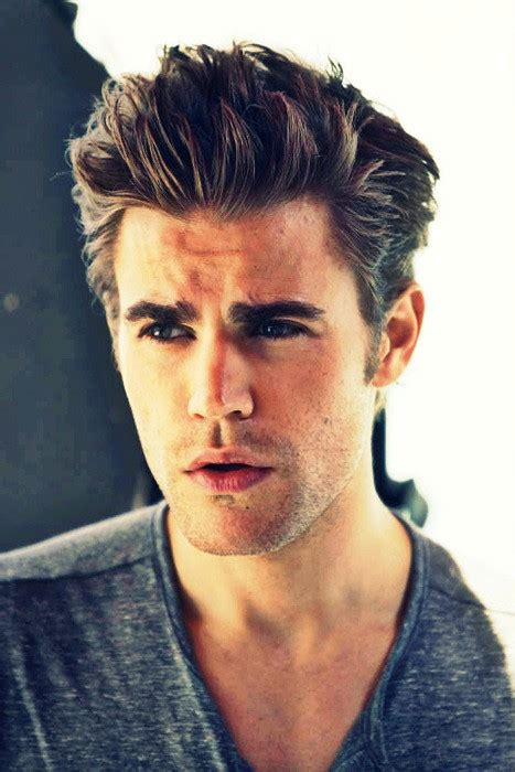 paul wesley hairstyle men hairstyles short long medium hairtyle styling tips new trend