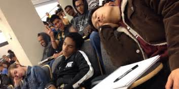This Tumblr Is Proof College Students Are Overworked And Exhausted      Sleeping Student In Class