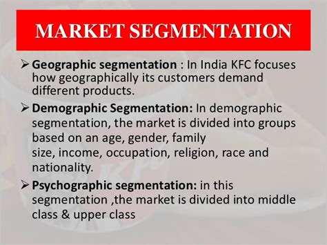 Kfc in india swot analysis