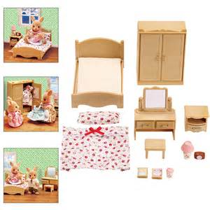 calico critters parent s bedroom set creative kidstuff