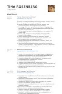 hr coordinator resume human resources coordinator resume sles visualcv resume sles database