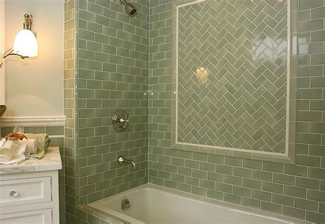 green subway tiles design ideas
