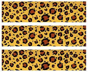 Buy Safari Leopard Print Edible Cake Border Decoration in