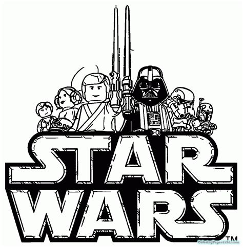 Star Wars Lego Coloring Pages Bal Fett Coloring Pages