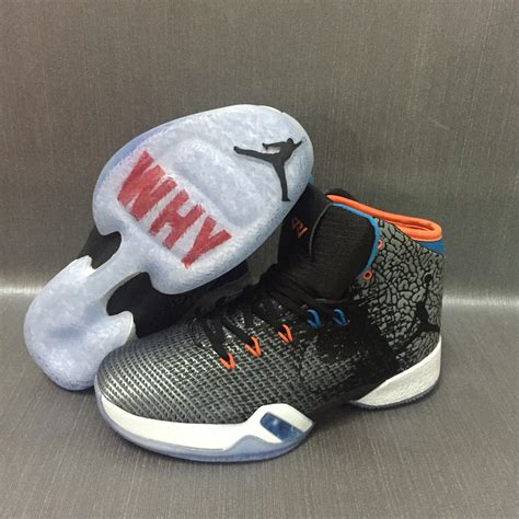 Nike Air Jordan Xxx1 31 Why Not Russell Multi Color