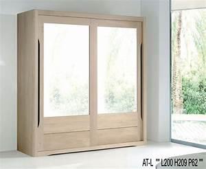 Porte De Penderie : armoire lilou 2 portes de 2 m l320gm ~ Teatrodelosmanantiales.com Idées de Décoration
