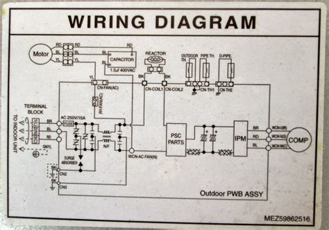 Lg Aircon Wiring Diagram by Lg Air Conditioner Wiring Diagram Wiring Library