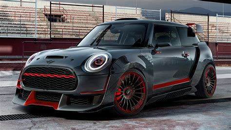 Mini Backgrounds by 2017 Mini Cooper Works Gp Concept Hd Wallpaper
