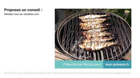 comment faire griller des sardines au barbecue