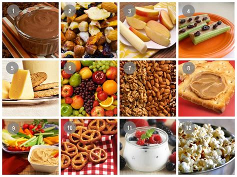12 Healthy Snack Ideas To Stay Fueled Up  Live Well @ Umd