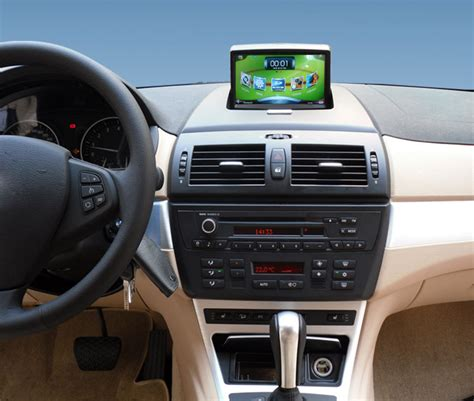 touch screen car gps  bmw