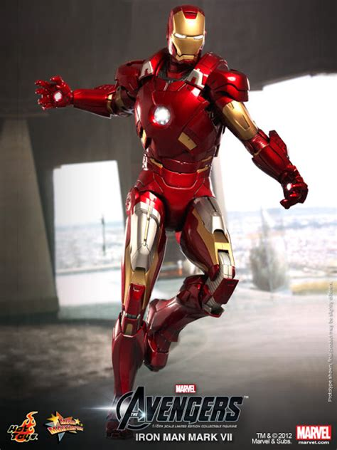 Toyhaven Hot Toys The Avengers 16th Scale Iron Man Mark