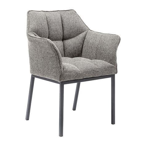 chaise haute pour salle a manger chaise grise avec accoudoirs pour salle collection avec