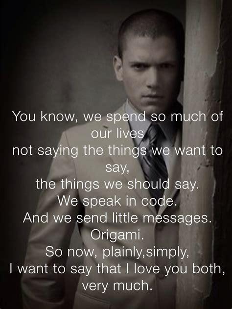 Michael Quotes Michael Scofield Quotes Quotesgram