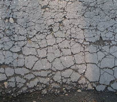 Asphalt Damage Parking Lot Paving Texture Damaged
