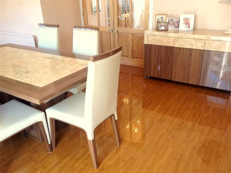 High Gloss Laminate Flooring: High Gloss Bamboo