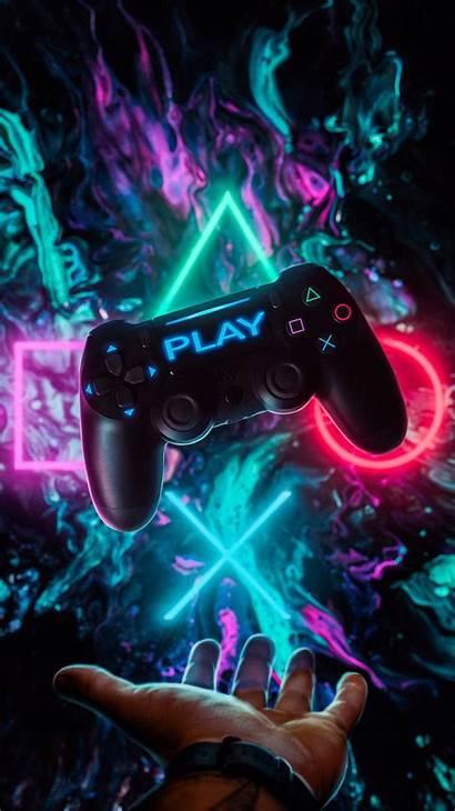 Wallpapers Controller Gaming Ps4 Playstation Play Joystick