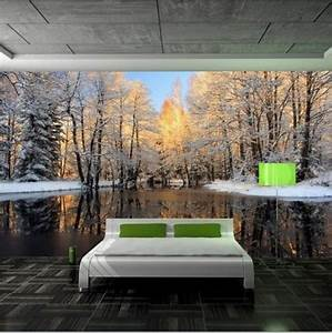 43 Enchanting Forest Wall Murals for Deep and Dreamy Home ...