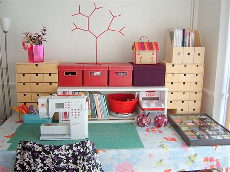 Sewing Room Ideas-the Seasoned Homemaker